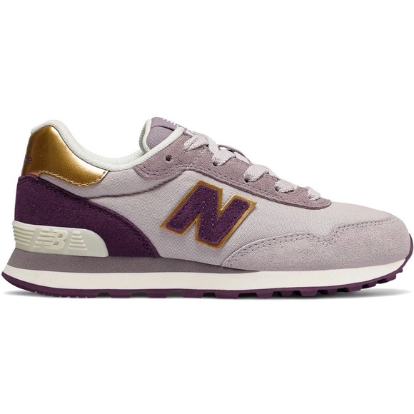 purchase newest compare price good looking 🆕 New Balance 515 Suede Trainers - Lilac/Gold NWT
